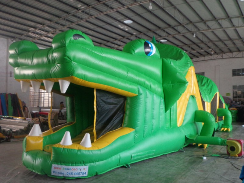 50 foot crocodile obstacle course