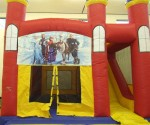 Themed Castle with Slide